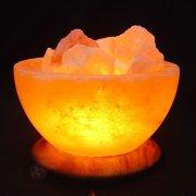Salzkristallschale Logo