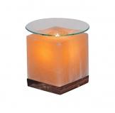 Salzkristall-Duftlampe-Wuerfel-mit-Glasschale-Elektrisch